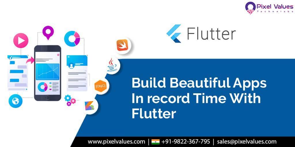 Pixel Values Technolabs Moves To Flutter The Best Cross Platform Mobile App Development Framework